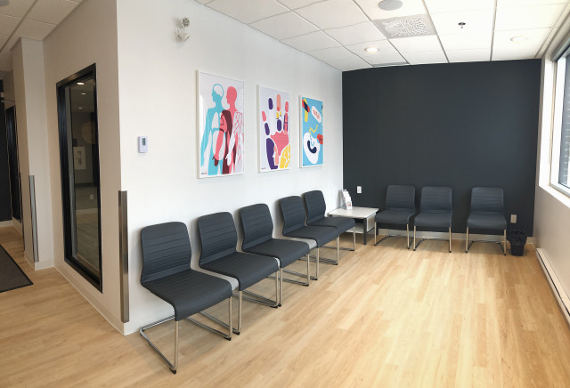 New waiting room in St-Jerome